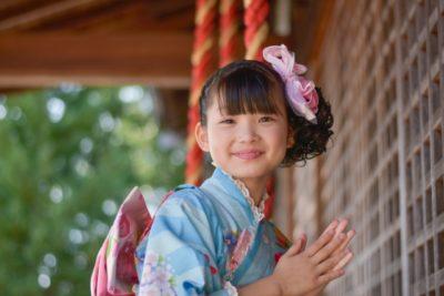 上賀茂神社 七五三 パック 女の子