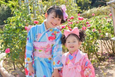 日枝神社 七五三 プラン ブログ 姉妹