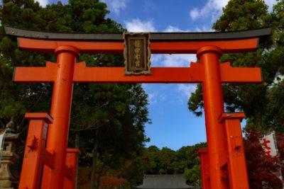 熱田神宮 七五三 パック ブログ 鳥居