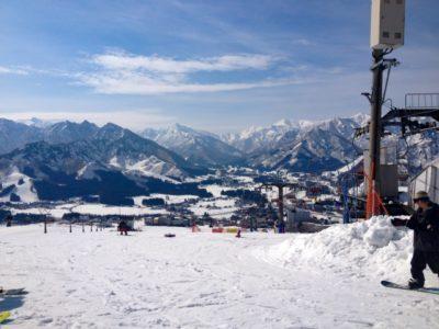 越後湯沢 スキー場 子供 リフト