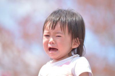 七五三 写真 がっかり 泣く子