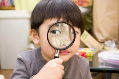 明治神宮 七五三 千歳飴 虫眼鏡