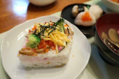 ひな祭り 献立 保育園(メニュー)ちらし寿司