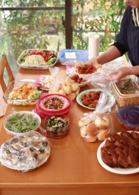 ひな祭りパーティー 持ち寄り ポテトサラダ