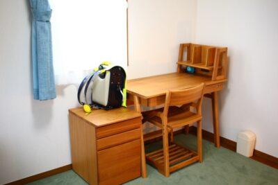 新学期 部屋の片付け 勉強机