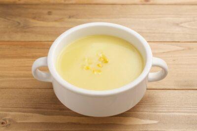 ひな祭り ご飯 2歳(メニュー)(献立)(料理) コーンスープ
