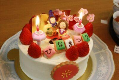 ひな祭りパーティー ブログ まとめ ケーキ