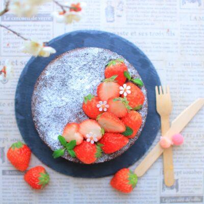 バレンタイン ワークショップ 子供 チョコレートケーキ