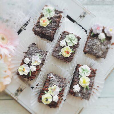 子供と作るバレンタイン チョコ チョコレートブラウニー
