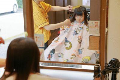 ひな祭り 髪型 子供 ヘアアレンジ カット