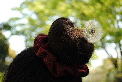 ひな祭り 髪型 子供 ヘアアレンジ お団子