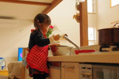 子供と作る バレンタイン 2歳 お菓子作り