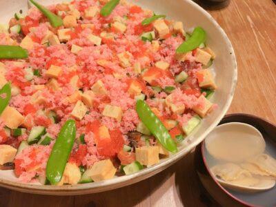 ひな祭りレシピ 子供(メニュー) ちらし寿司