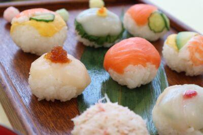 ひな祭り 魚 料理 手毬寿司