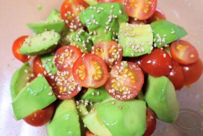 ひな祭り ご飯 簡単(献立)サラダ