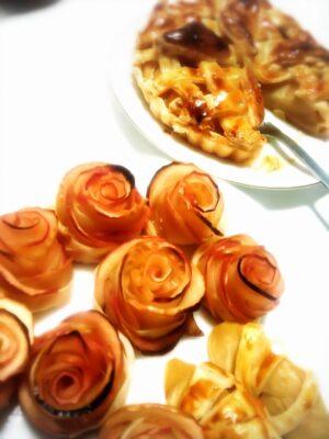 ひな祭りパーティー メニュー(料理)(献立)バラタルト