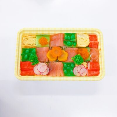ひな祭りご飯画像(料理)モザイク寿司