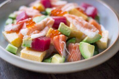 ひな祭り 魚 料理 ちらし寿司