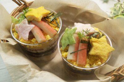 子供が喜ぶ ひな祭り メニュー レシピ カップ寿司