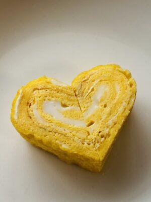バレンタイン お弁当 子供 卵焼き