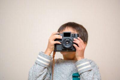 バレンタイン 子供 写真 撮影 カメラ