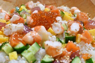 ひな祭り 料理 献立 ちらし寿司