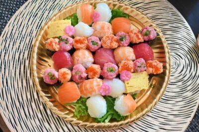 ひな祭りパーティー ブログ まとめ アレンジ寿司