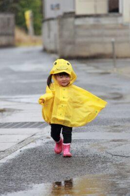 しまむら 子供 雨具 サイズ選び