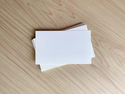 お祭りごっこ チケット 名刺カード