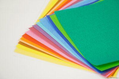 お祭りごっこ 食べ物 折り紙
