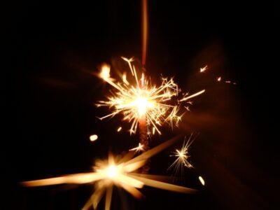 手持ち花火の種類と名前 火花