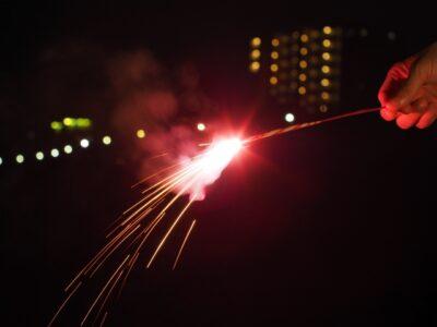 手持ち花火の種類と名前 ススキ花火