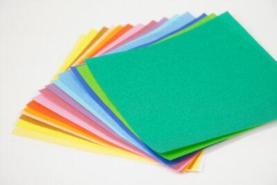 お祭りごっこ ちょうちん 折り紙